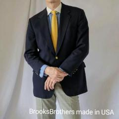 """Thumbnail of """"USA製 BROOKS BROTHERS 紺ブレザーL"""""""