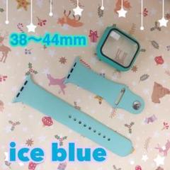 "Thumbnail of ""ice Blue Apple Watch ラバーベルト   42mmm"""