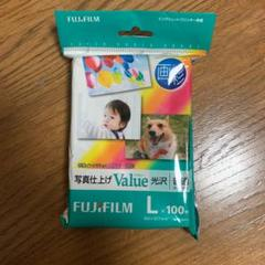 "Thumbnail of ""富士フイルム 画彩 写真仕上げ Value L判 100枚 WPL100VA"""