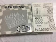 "Thumbnail of ""GLASS CHESS ガラス製 チェスセット"""