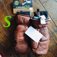"Thumbnail of ""LEVEL Glove Empire Mitt Brown サイズS"""