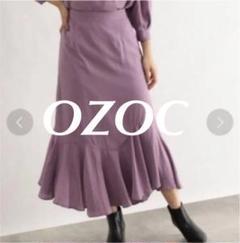 """Thumbnail of """"OZOC [洗える]小花ジャカードフレアスカート"""""""