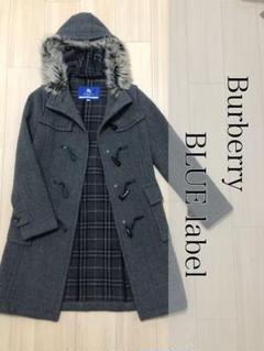 "Thumbnail of ""【美品】Burberry バーバリーブルーレーベル ダッフルコート ウール 38"""