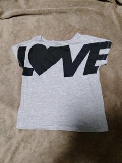 "Thumbnail of ""送料無料 H&M 140  LOVE Tシャツ 半袖"""