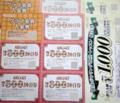 "Thumbnail of ""ROUND1 ラウンドワン 株主優待券 5000円相当(500円券×10枚)"""