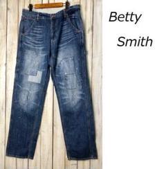 """Thumbnail of """"Betty Smith リペア加工 デニム ペインターパンツ L USED加工"""""""