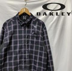 "Thumbnail of ""OAKLEY オークリー チェックシャツ XL ゴルフウェア"""