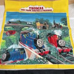 "Thumbnail of ""機関車トーマス ハンカチ、携帯ストラップ"""