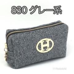 "Thumbnail of ""新発売☆☆☆NoaHsarK  ソフトタッチポーチ 830 グレー系"""