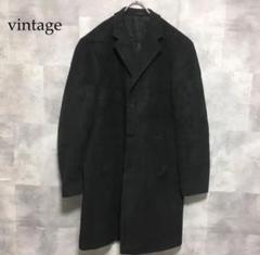 "Thumbnail of ""vintage シャドーグレー 比翼仕立て チェスターコート"""
