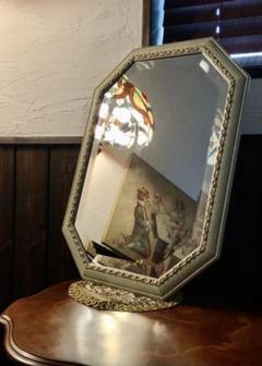 """Thumbnail of """"ヴィンテージ ウォールミラー カットガラス イタリア 壁掛け鏡"""""""