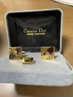 "Thumbnail of ""Dior カフス・タイタックセット 美品"""