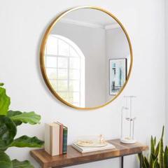 """Thumbnail of """"鏡、壁掛け鏡、ミラー、丸型、直径40センチ"""""""