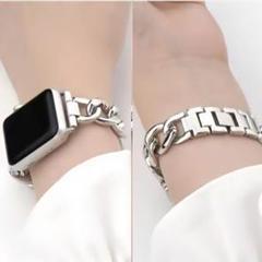 "Thumbnail of ""【シンプルなデザインで大活躍❗️】 Apple Watch チェーンベルト"""