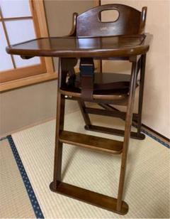 "Thumbnail of ""KATOJI カトージ ラルタン ベビーチェア 木製 ハイチェア テーブル付き"""
