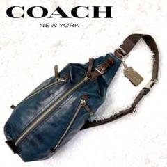 "Thumbnail of ""【COACH 】コーチ トンプソン ボディバック 斜めがけ  定価6万 L-88"""