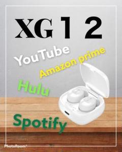 "Thumbnail of ""XG-12 ホワイト ワイヤレスイヤホン 高音質 おしゃれ"""
