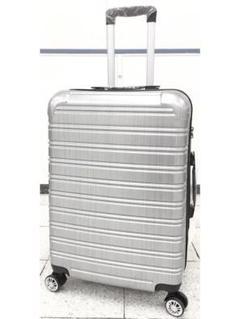"""Thumbnail of """"小型軽量スーツケース8輪キャリーバッグ TSAロック付機内持込Sサイズ シルバー"""""""