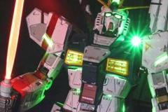 "Thumbnail of ""PGU νガンダム 1/60 塗装済み 電飾 完成品 逆襲のシャア バンダイ"""