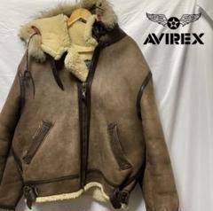 """Thumbnail of """"AVIREX ファー付き B-3 ジャケット USA製 リアルムートン"""""""