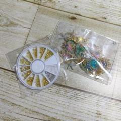 """Thumbnail of """"ネイルパーツ⑨12種アソート☆ケース付き♪"""""""