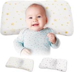 """Thumbnail of """"ベビー枕 2枚セット 向き癖 頭の形が良くなる 低反発 通気性 綿100%"""""""