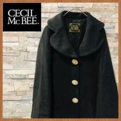"""Thumbnail of """"CECIL Mc BEE セシルマクビー レディース Pコート M ブラック"""""""