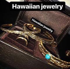 """Thumbnail of """"ハワイアンジュエリー バングル メンズ ブレスレット ターコイズ インディアン"""""""