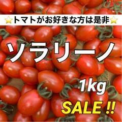 """Thumbnail of """"タイムセール! 産地直送 農家直送 コクうま ミニトマト ソラリーノ 1kg"""""""