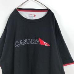 "Thumbnail of ""アメリカ古着 刺繍 カナダ ロゴ オーバーサイズ Tシャツ XL"""