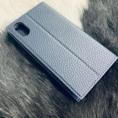 "Thumbnail of ""新品 iPhone Xs ケース 手帳型 アイフォンX ケース 手帳型 ネイビー"""
