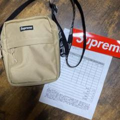 "Thumbnail of ""supreme shoulder bag 18ss tan"""