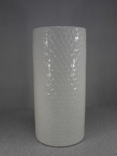 "Thumbnail of ""送料無料!陶器製、傘立て。ハニカムホワイト、輝いて綺麗な白、小難あり5-37"""