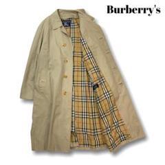 "Thumbnail of ""【ノバチェック】バーバリー★Burberry ステンカラーコート XL L324"""