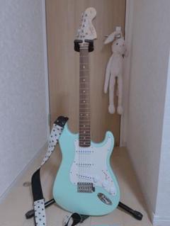 """Thumbnail of """"エレキギター Fender グリーン ストラトキャスター"""""""