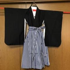 """Thumbnail of """"5歳児男の子用の羽織袴、肌襦袢の3点セットです。"""""""