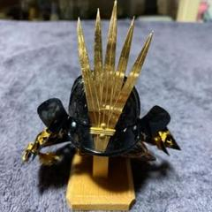 "Thumbnail of ""菖蒲前立筋鉢兜 玉鳳作"""