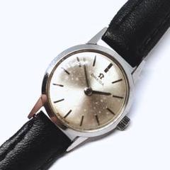 "Thumbnail of ""【正規稼働品】OMEGA オメガ 手巻き 石入り 2針 希少 レディース 腕時計"""