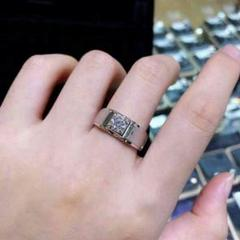 """Thumbnail of """"『品質保証』1.0 ctダイヤモンドリングPT 950プラチナ結婚指輪6"""""""