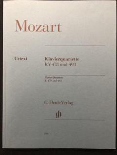 "Thumbnail of ""モーツァルト ピアノ四重奏 K.478 K.493 ヘンレ版"""