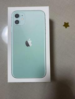 """Thumbnail of """"iPhone11 greenの箱"""""""