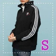 """Thumbnail of """"アディダス adidas ハーフジップ スウェット レディース オリジナルス S"""""""