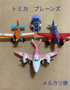 "Thumbnail of ""トミカ TOMICA プレーンズ Planes 飛行機 ディズニー 4個セット"""