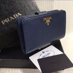 "Thumbnail of ""258 PRADA サフィアーノ 折財布"""
