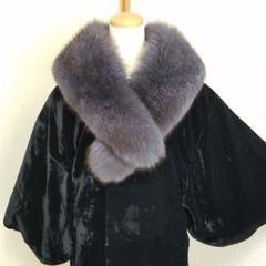 "Thumbnail of ""ブルーフォックス ティペット 襟巻 成人式振袖、着物コートに 美品"""