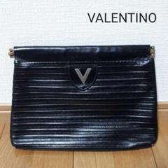 """Thumbnail of """"VALENTINO ヴァレンチノ オールド ブラック クラッチバック バッグ 鞄"""""""