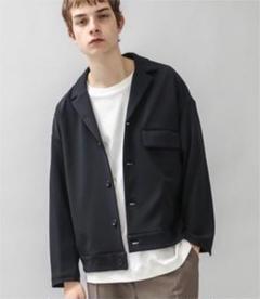 "Thumbnail of ""【STUDIOUS】Knittwill flap shirts jacket"""