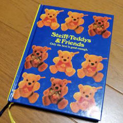 "Thumbnail of ""未使用シュタイフ日記帳Steiff Teddys & Friends テディベア"""