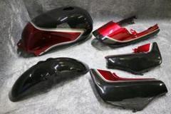 """Thumbnail of """"ジェイド250 外装カバー 一式 黒赤ノーマル/MC23塗装 済み セット"""""""