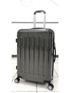 """Thumbnail of """"中型軽量スーツケース 8輪キャリーバッグ TSAロック付き Mサイズ 黒"""""""